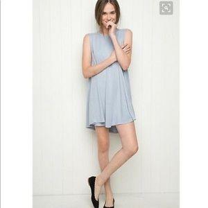 Brandy Melville Blue Alena Dress